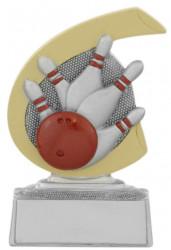 Bowlingpokal C650 silber