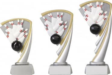 Bowlingpokale 3er Serie C806 17 cm