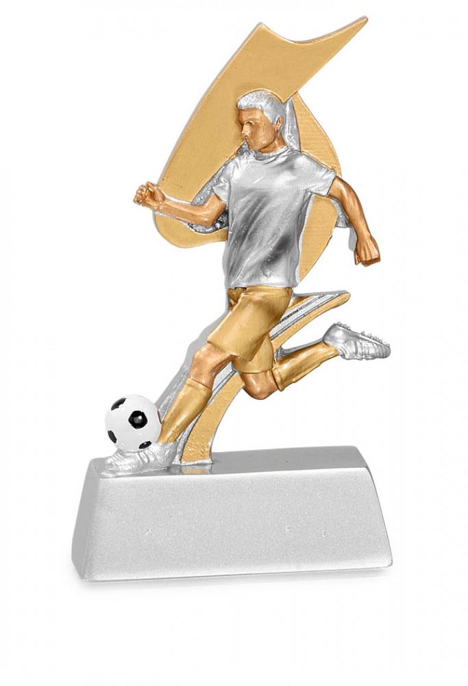 Trophäe Fußballer mit Ball FS17902
