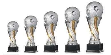 Fußballpokale 5er Serie FS100 43 cm