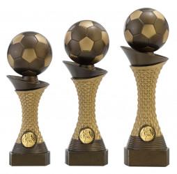 """Fußballpokale 3er Serie C163 """"Fußball"""" 23,5 cm"""