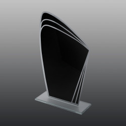 Glastrophäe FSG003 21 cm