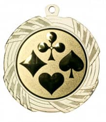 """Medaille """"Kreios"""" Ø 70 mm inkl. Wunschemblem und Kordel gold"""