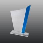 Glastrophäe B337 22 cm