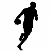 Silhouette Football 19