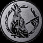 Emblem 50mm Golftasche, silber