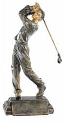Trophäe Golfer FS52565 bronze