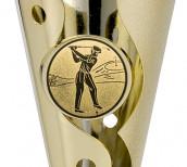 Golfpokale 3er Serie A100-GOLF gold