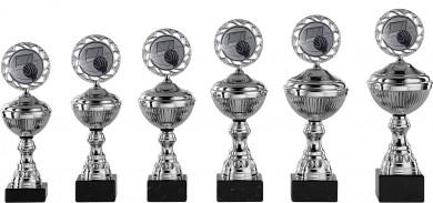 Handballpokale 6er Serie S145-HA silber 23 cm