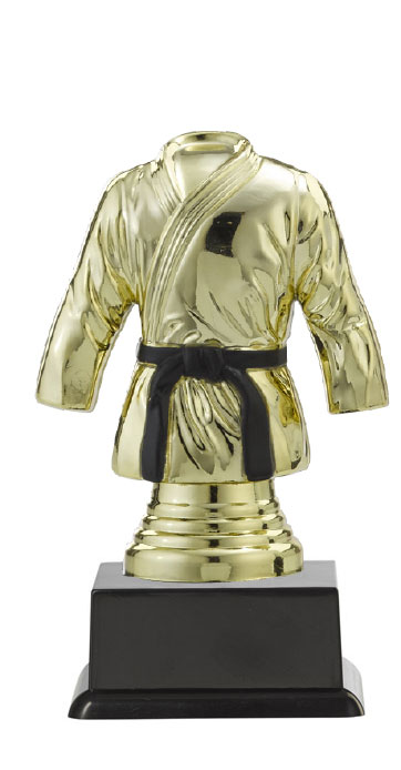 "Figurpokal ""Keikogi"" PF351.1-M60 gold 13,1cm"
