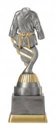 Judopokal PF214-M61 altsilber/gold 18,8cm