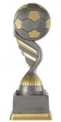 "Fußballpokal ""Ball"" PF227-M61 altsilber/gold 17,3cm"