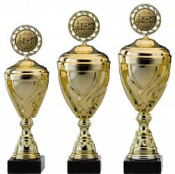 Pokale Serie S751-3erB gold mit Deckel 33 cm bis 47 cm 41 cm