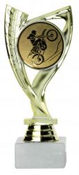 Motocrosspokale 3er Serie A285-MOTO gold