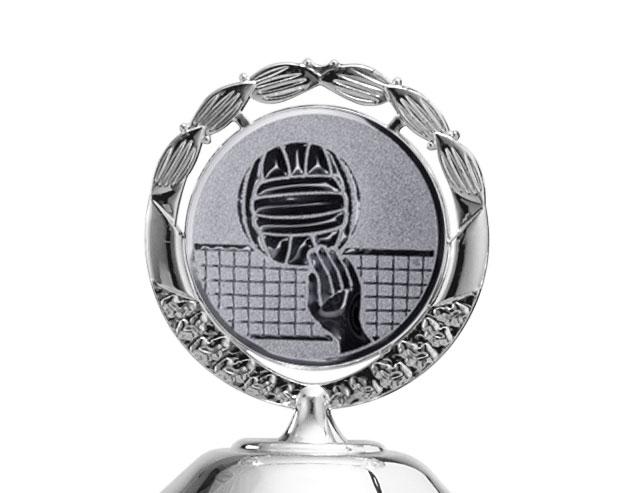 Pokale 12er Serie S762 silber mit Deckel 42 cm