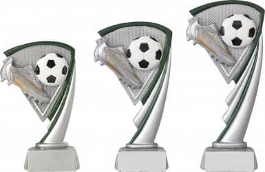 Fußballpokale 3er Serie C801 14,5 cm