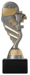 Motorsportpokal PF224 altsilber/gold