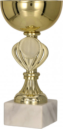 Pokale 3er Serie TRY9079 gold 13,5 cm