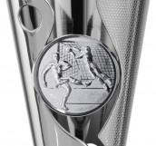Pokale 3er Serie A302 silber/schwarz 34 cm