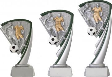 Fußballpokale 3er Serie C800 19,5 cm