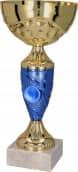 Pokale 6er Serie TRY9058 gold/blau 20 cm