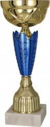 Pokale 6er Serie TRY8289 gold/blau 24,5 cm