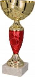 Pokale 6er Serie TRY9057 gold/rot 29 cm