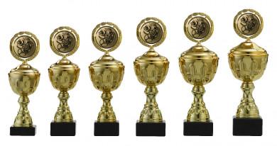 Pokale 6er Serie S160 gold 23 cm