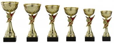 Pokale 6er Serie S478 gold 26 cm