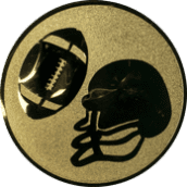 Emblem 50mm Football, gold