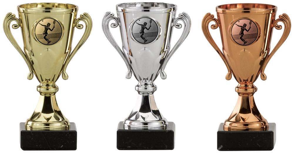 Tennispokale 3er Serie A103-TEN gold