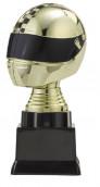 """Figurpokal """"Helm"""" PF353.1-M60 gold/schwarz 16,1cm"""