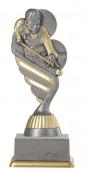 Billardpokal PF212-M61 altsilber/gold 15,8cm