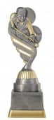 Billardpokal PF212-M61 altsilber/gold 18,8cm