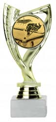 Billardpokale 3er Serie A285-BI gold