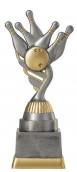 Bowlingpokal PF211-M61 altsilber/gold 18,8cm