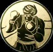 Emblem 25mm Boxer, gold
