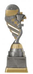 Motorsportpokal PF224-M61 altsilber/gold 18,8cm