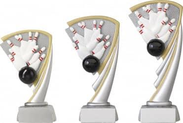 Bowlingpokale 3er Serie C806 19,5 cm