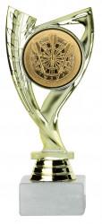 Dartpokale 3er Serie A285-DART gold