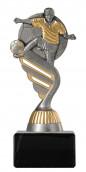 Fußballpokal PF200 altsilber/gold