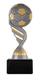 "Fußballpokal ""Ball"" PF227 altsilber/gold"