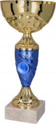 Pokale 6er Serie TRY9058 gold/blau 31 cm