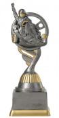 Kartpokal PF223-M61 altsilber/gold 17,3cm