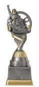 Kartpokal PF223-M61 altsilber/gold 18,8cm
