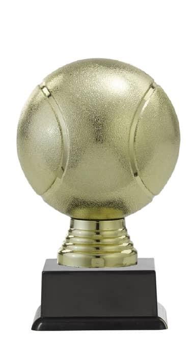 "Ballpokal ""Tennis"" PF305.1-M60 gold 13,1cm"