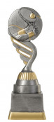 Tennispokal PF209-M61 altsilber/gold 18,8cm